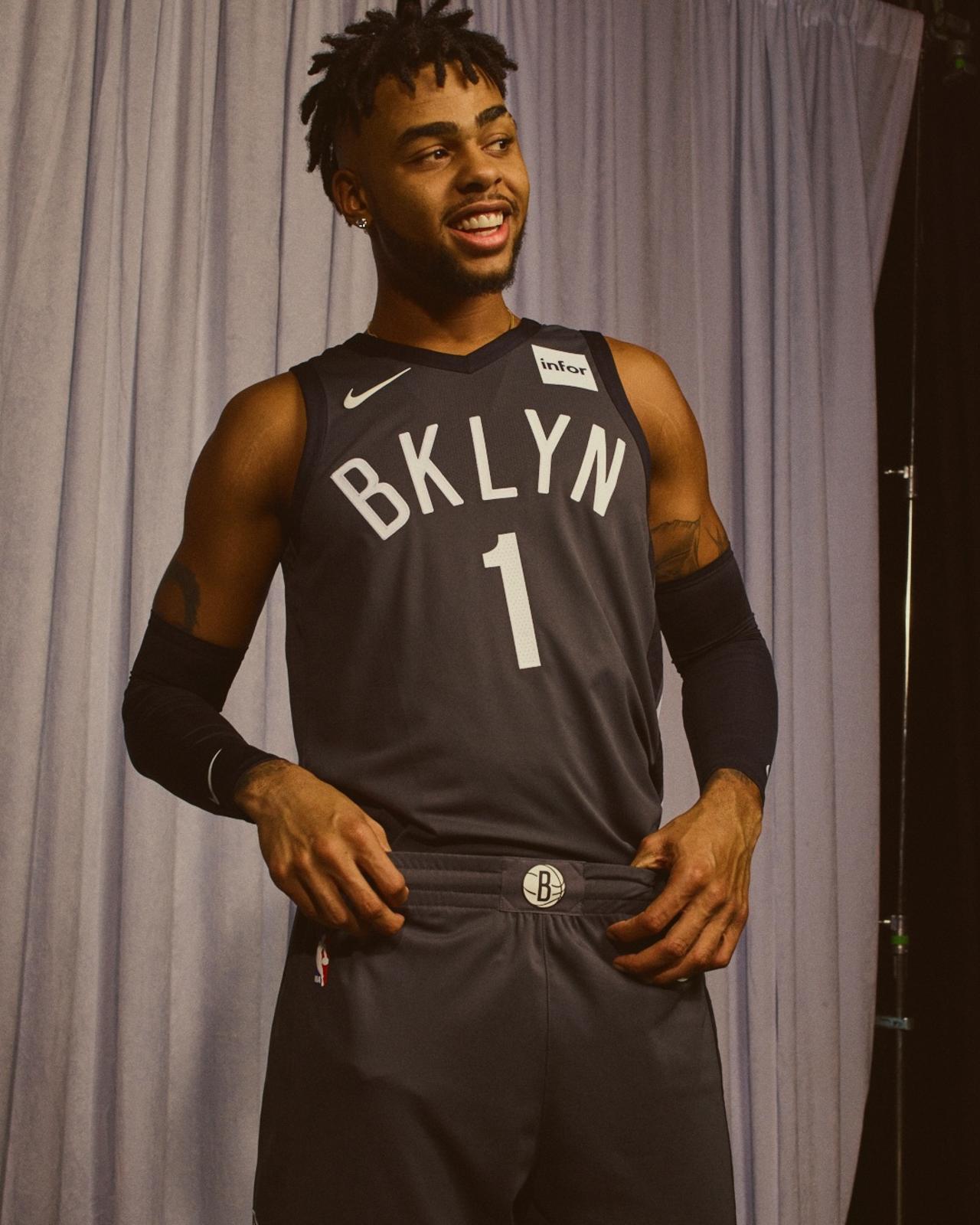Nike NBA Statement Edition uniform Brooklyn