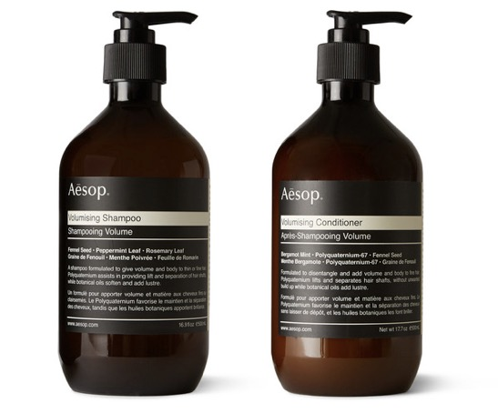 Aesop Volumising Shampoo and Conditioner