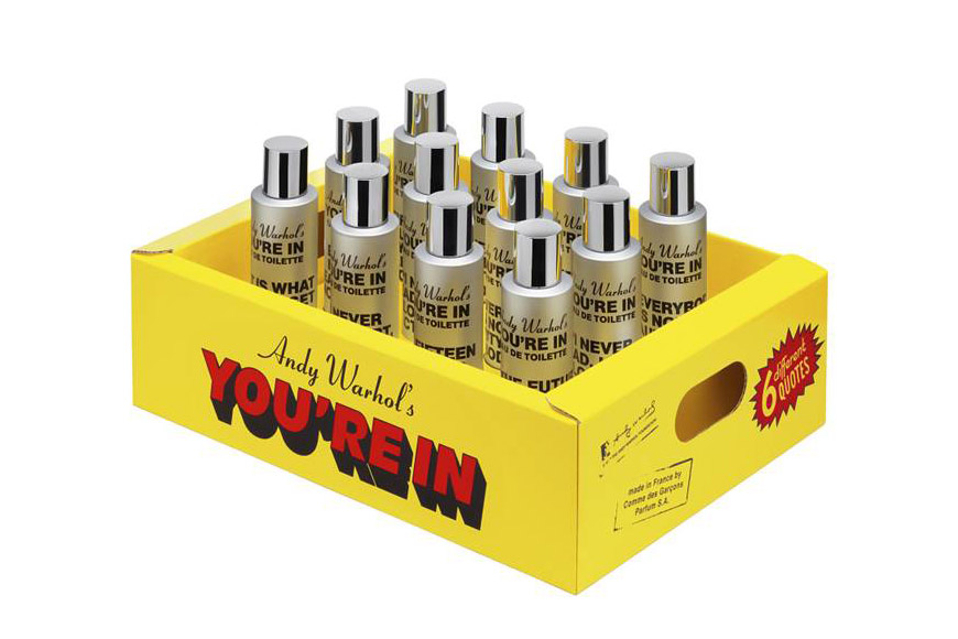 Andy Warhol's You're In Eau de Toilette Commes des Garcons 2