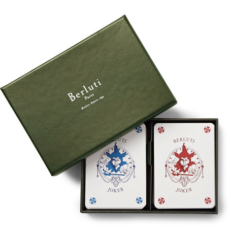 Berluti playing cards spelkort spelkväll