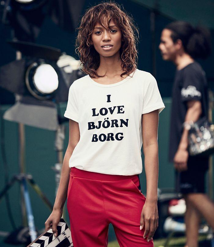 I Love Björn Borg t-shirt