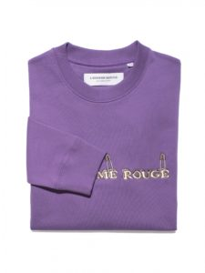 Logo Sweater Lhomme rouge