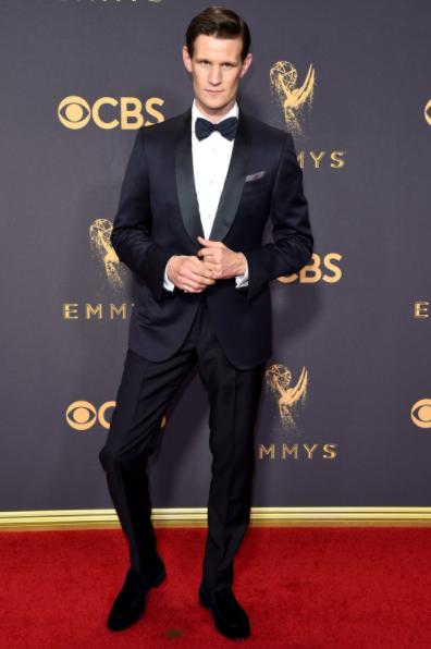 Matt Smith in Ermengildo Zegna Couture at Emmys 2017