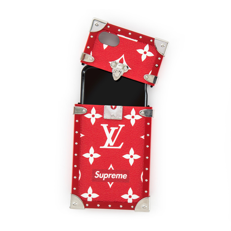 Mobilskal Supreme x Louis Vuitton på Bukowskis