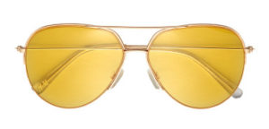 Solglasögon guld:gul H&M
