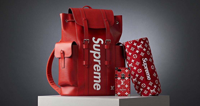 Louis Vuitton x Supreme på Bukowskis
