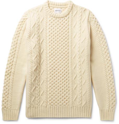 kabesltickad tröja från Norse Projects