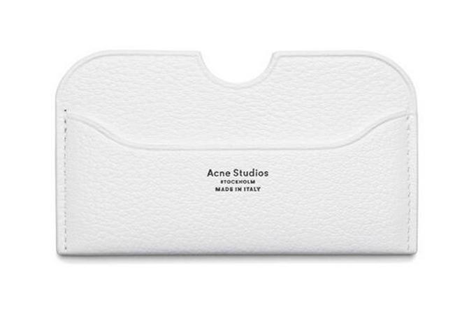 Acne Studios Card Holder Plånbok Elmas White