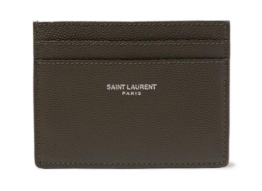 Saint Laurent leather card holder korthållare