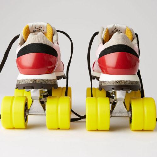 Acne Studios DIner Collection roller derby skates
