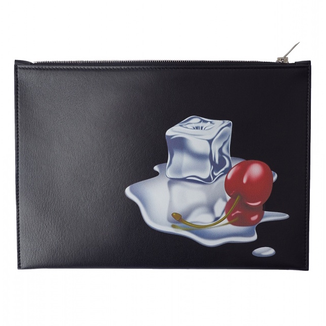 Acne Studios Diner Collection malachite-em-black-cocktail-print