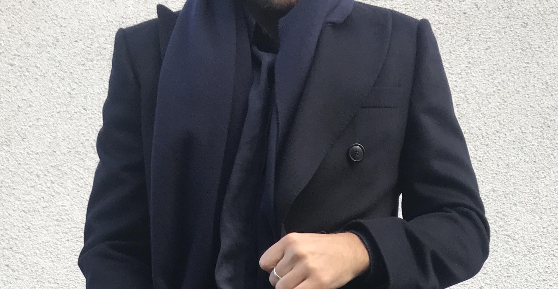 Egendesignad vinterrock i ull och kashmir från Brothers Made to Measure