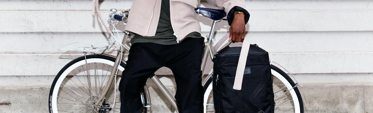 Sandqvist och Vélosophy lanserar funktionell ryggsäck