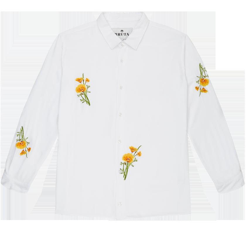 Soulland x Bruta white shirt