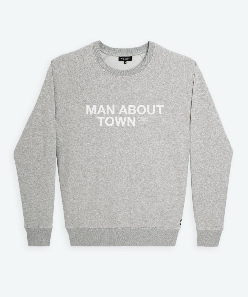 Sweatshirt Man About Town