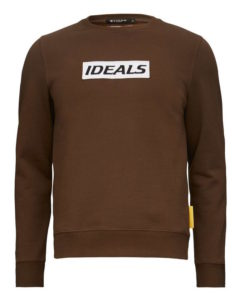 Tiger of Sweden Ideals brun collegetröja sweatshirt