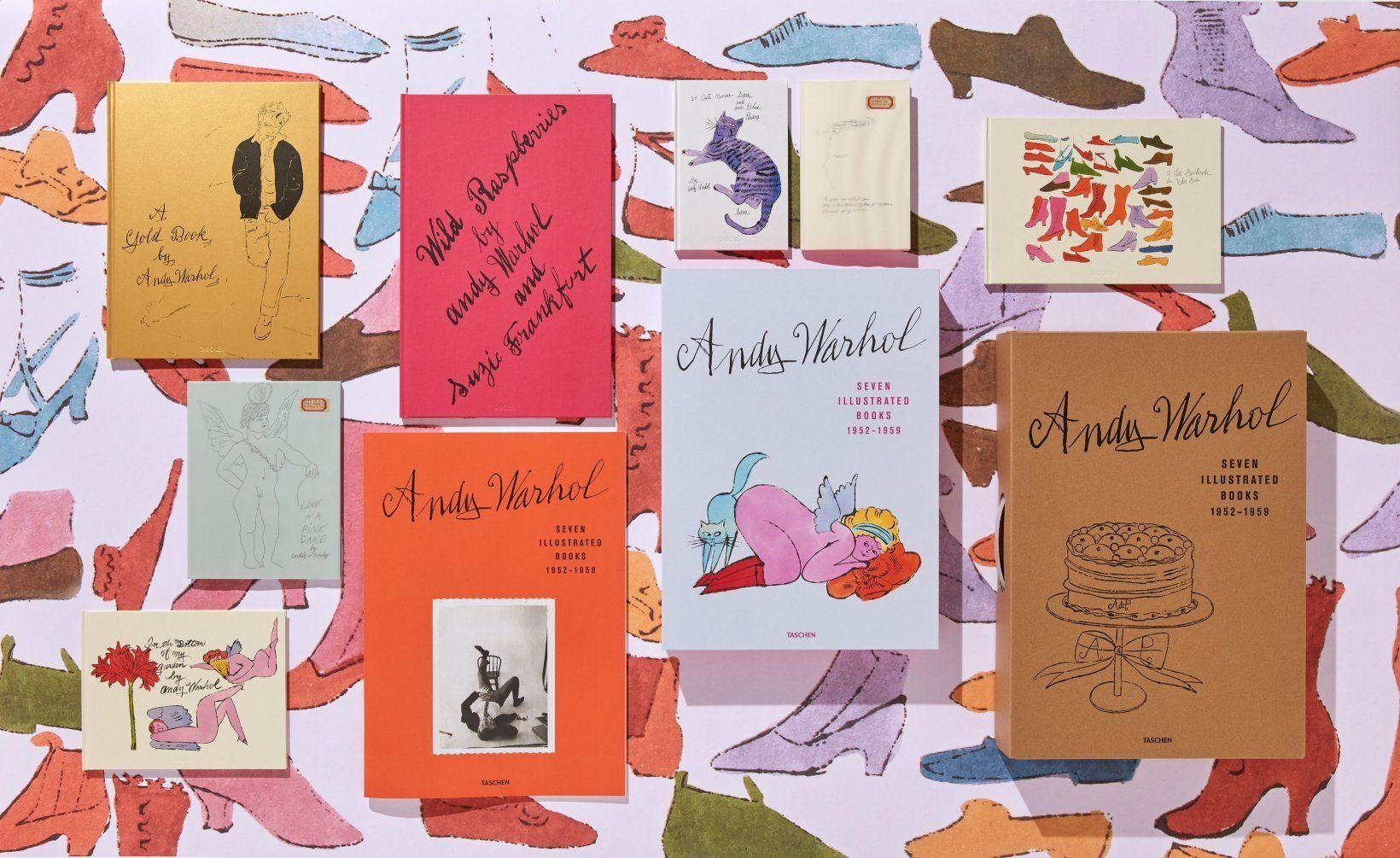Andy Warhol. Seven Illustrated Books 1952–1959 Baby Sumo från Taschen