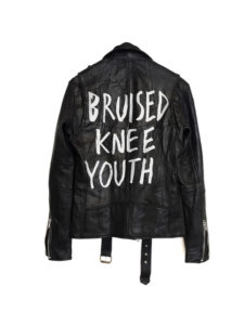 Deadwood Leather Jacket Bruised Knee Youth