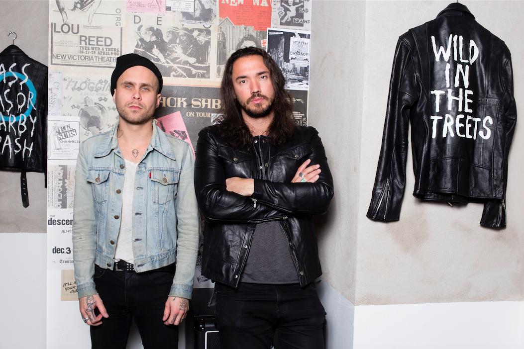"""Intervju med Carl och Felix från Deadwood """"läder är det mest underbara jävla material som finns"""""""