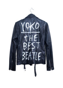 Deadwood leather biker jacket Yoko The Best Beatle