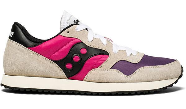 Saucony DXN Trainer Vintage White:Pink:Purple