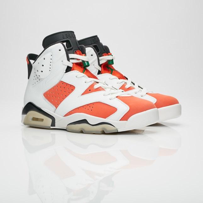 Sneakers Jordan Brand Air Jordan 6 Retro White Orange