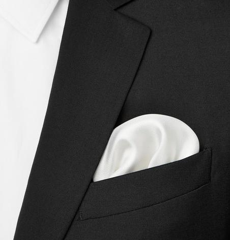 Turnbull & Asser silk handkerchief bröstnäsduk nyårsfirande
