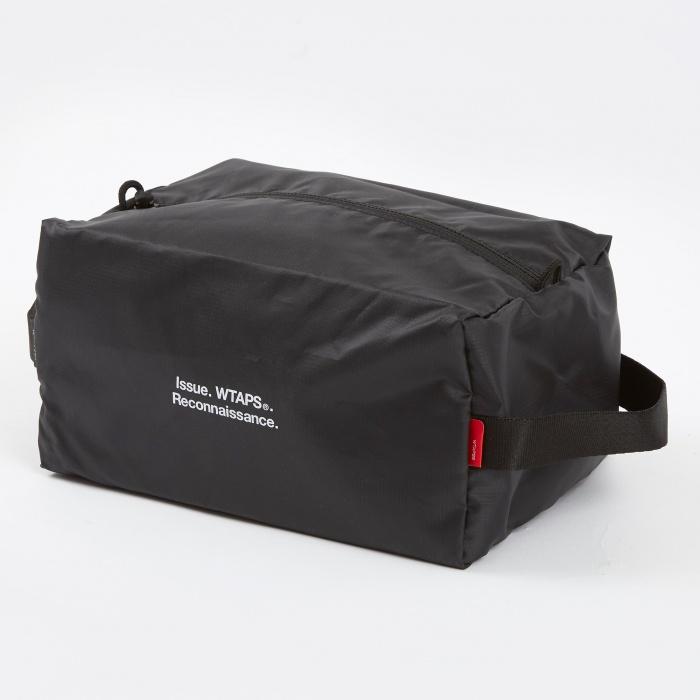 WTAPS x Herschel Supply Co. Mess Pouch in black