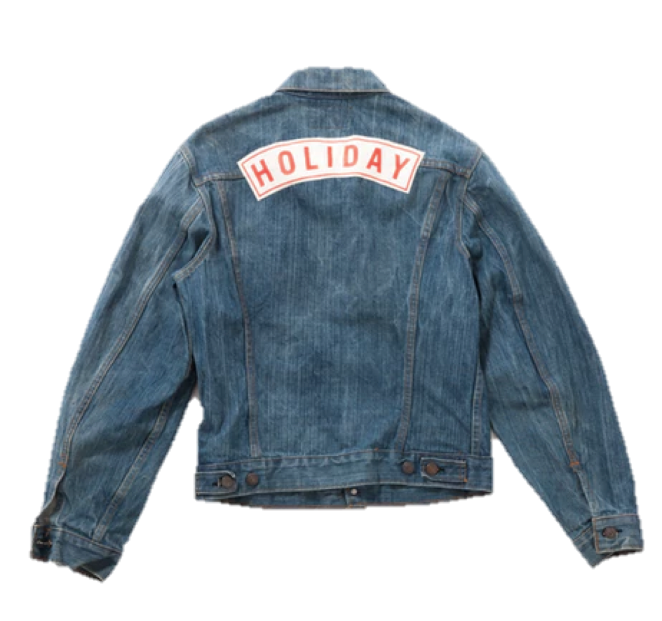 Holiday Boileau x Vestiaire Collective denim jacket