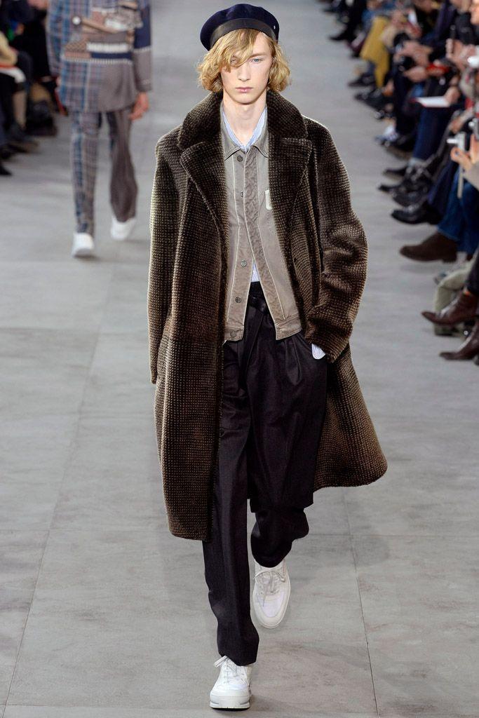 LOUIS VUITTON 2017 2018 AW Men's Collection fur päls