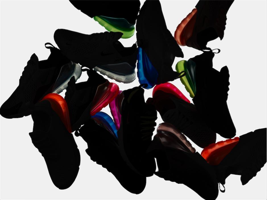 Nike Air Max 270 – Nikes första livsstils-sko med Air-enhet