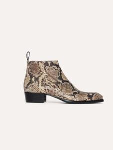 H&M Studio S:S 2018 Man Snake skin boot