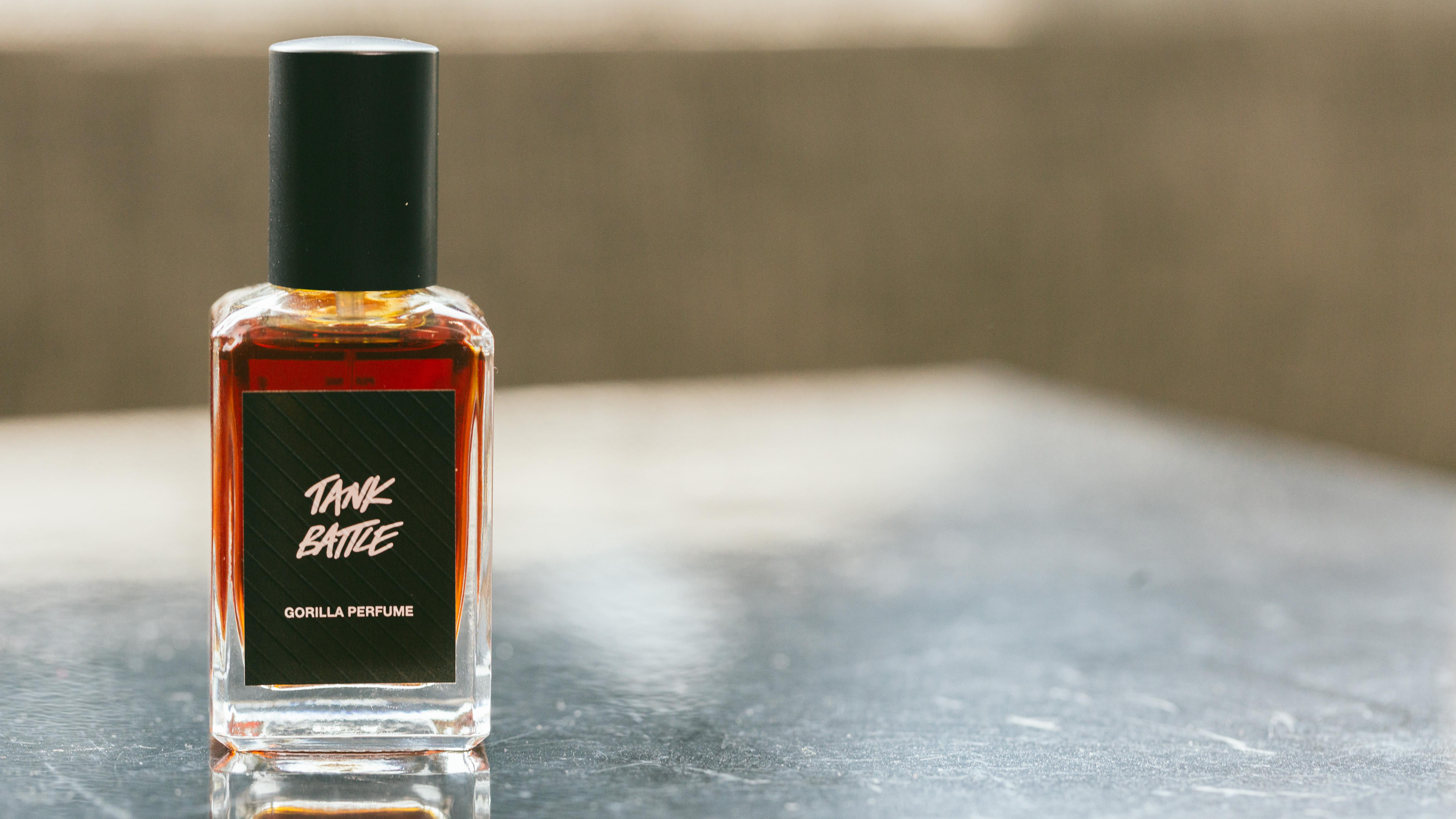 Lush Tank Battle Gorilla Perfume