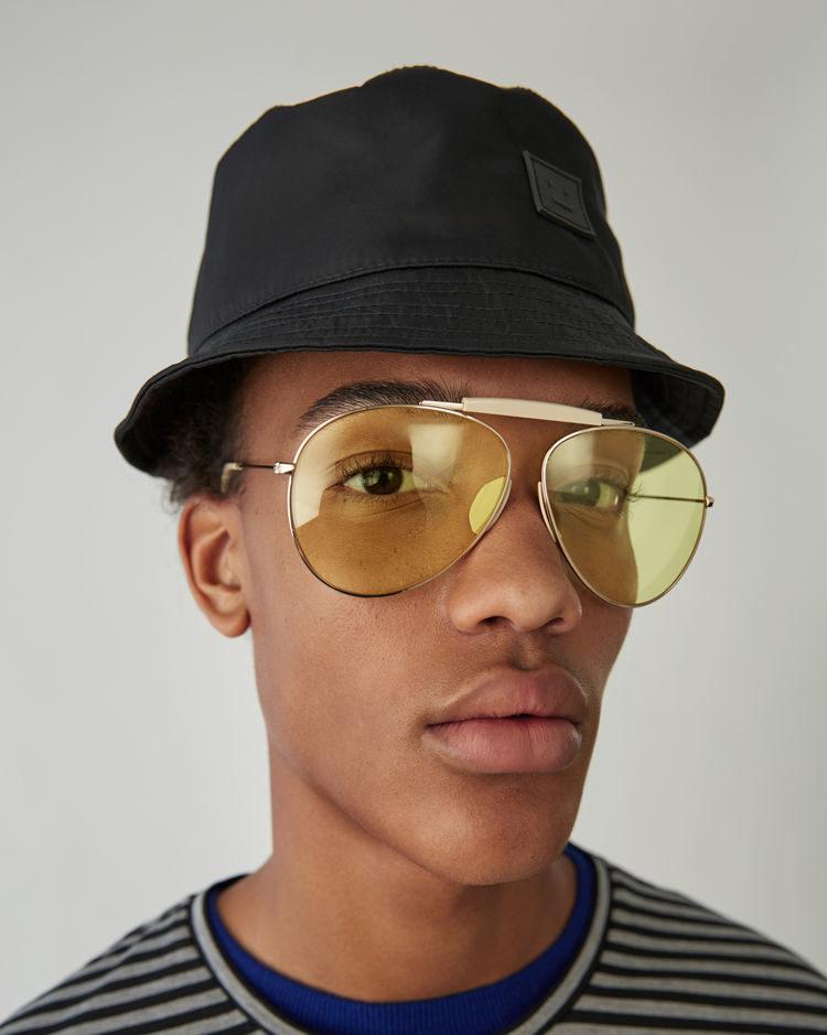 Bucket Hat Acne Studios Buk Face Black