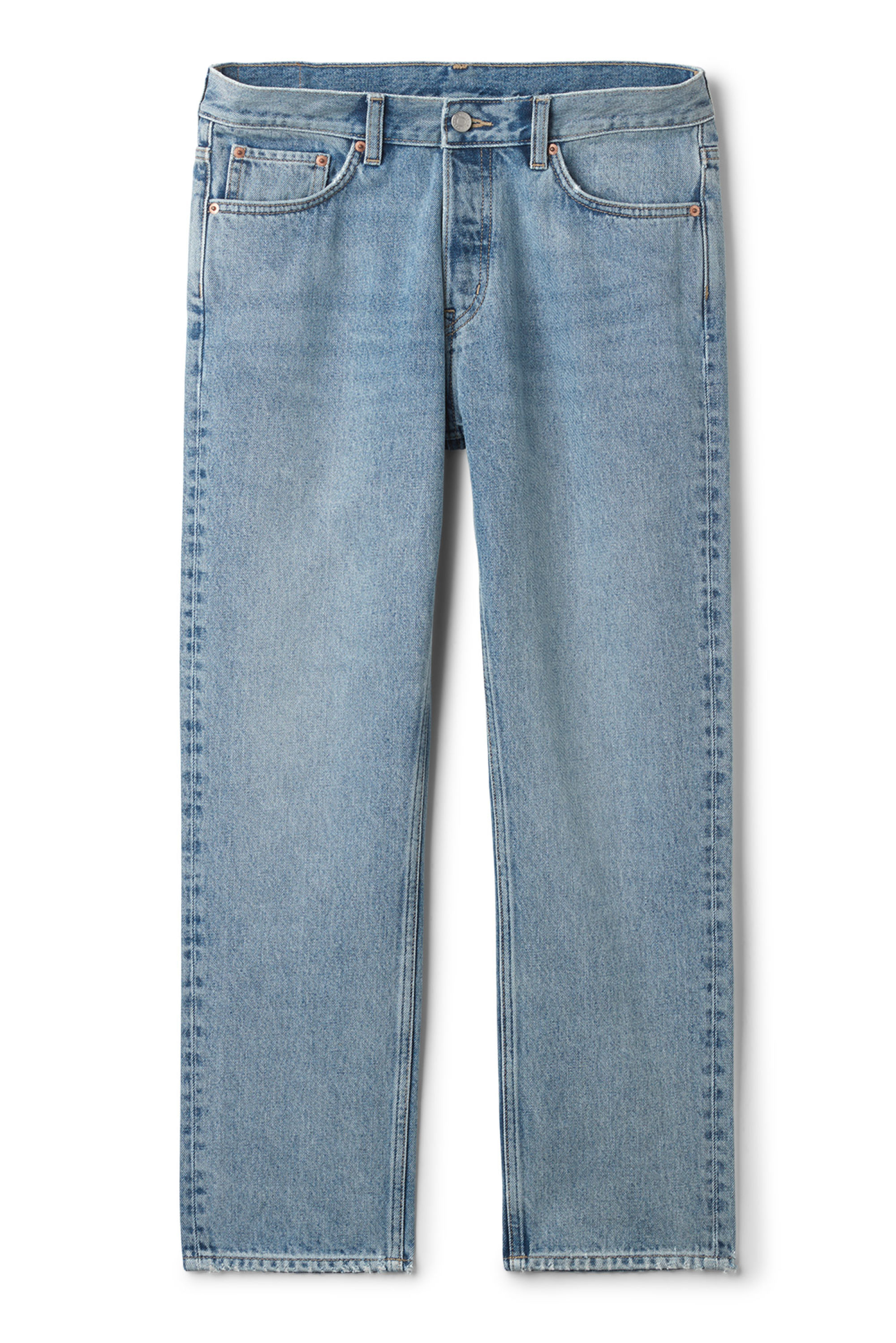 Outfit - Weekday Vacant Wow Blue Jeans