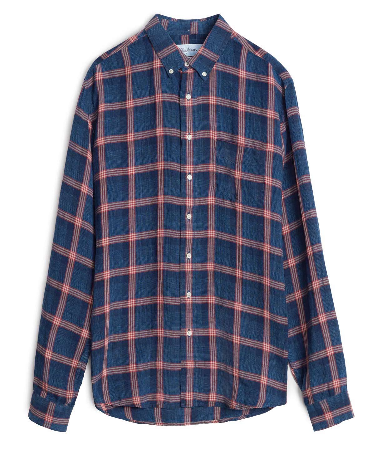 Rutiga skjortor - Schnayderman's checked shirt