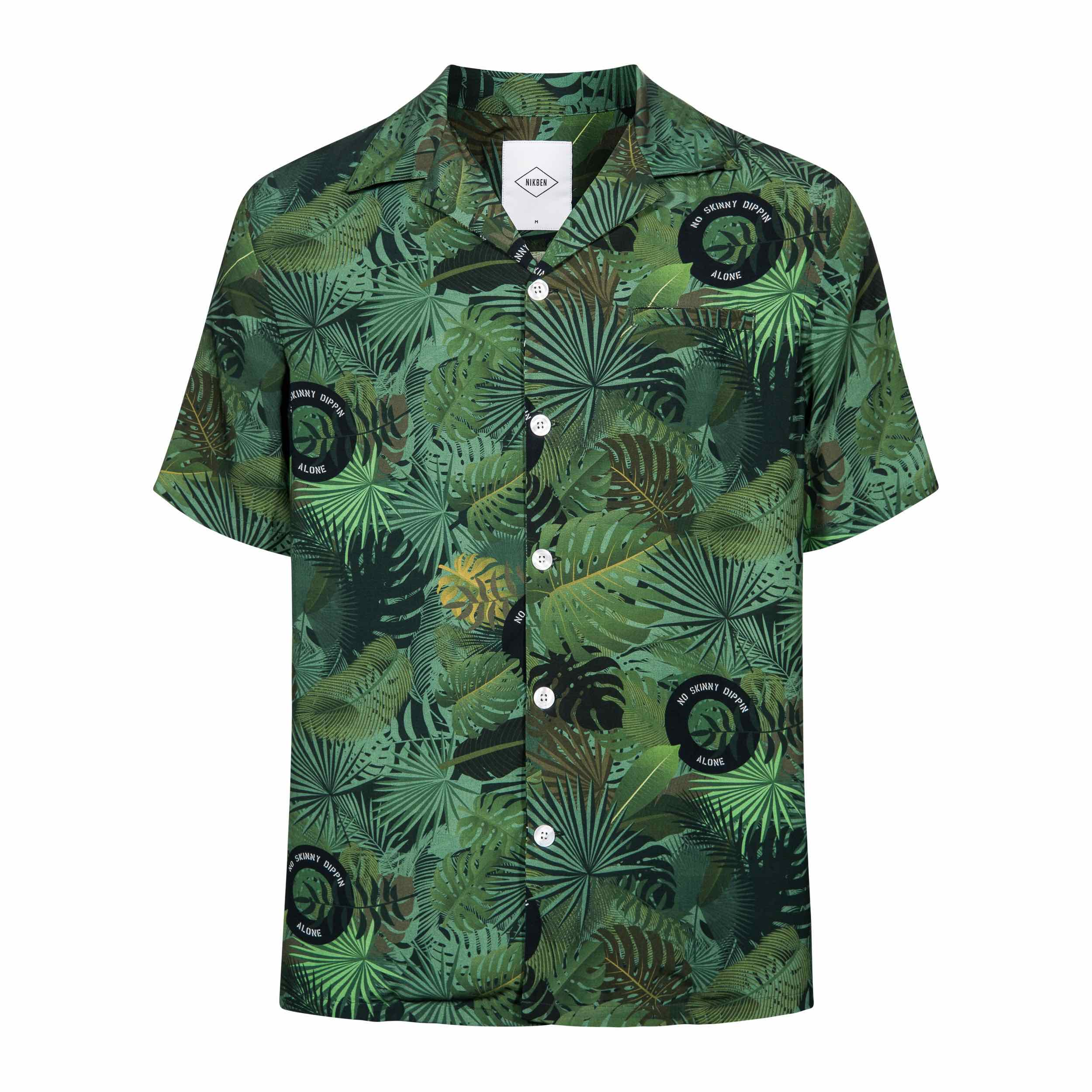 NIKBEN Resort Shirts Green