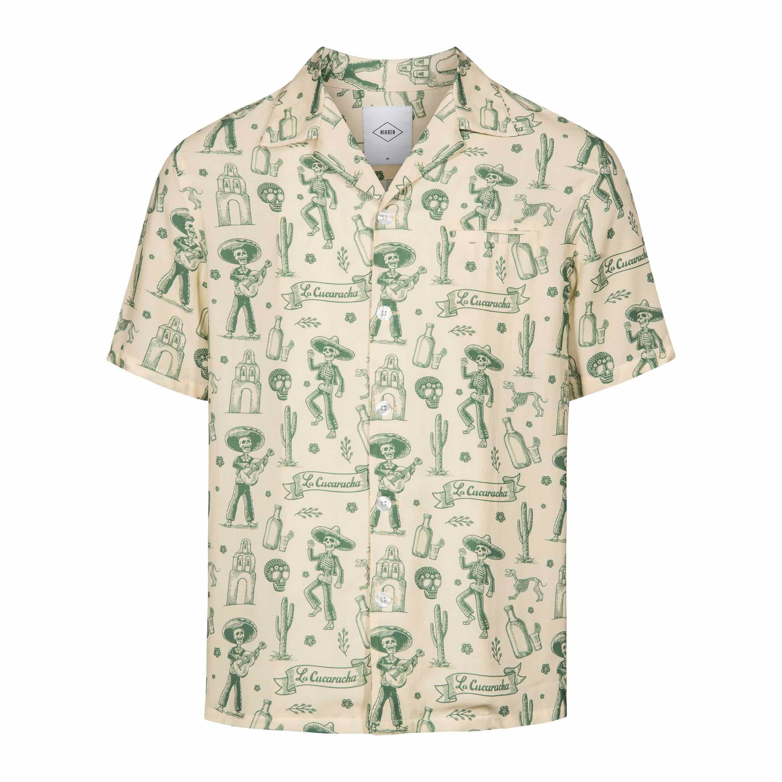 NIKBEN Resort Shirts La Cucaracha