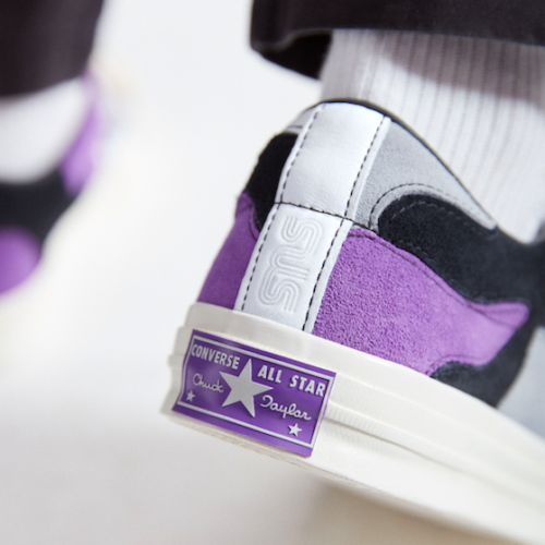 Converse x Sneakersnstuff header purple