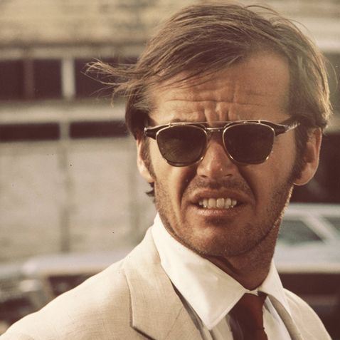 Jack Nicholson in sunglasses