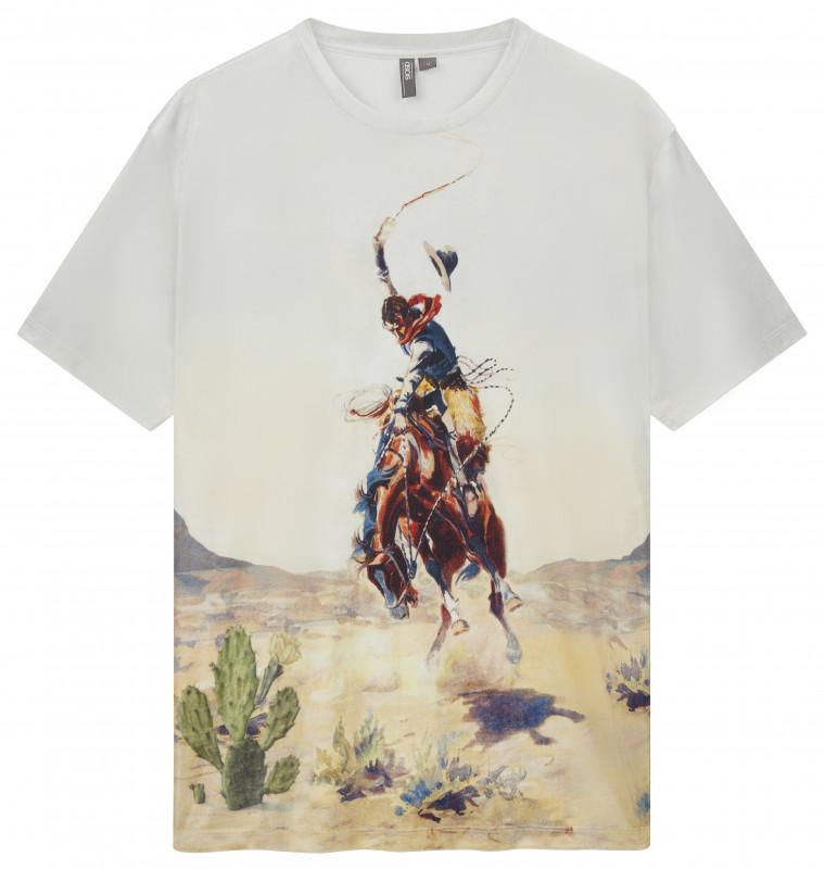 ASOS AW18 t-shirt cowboy