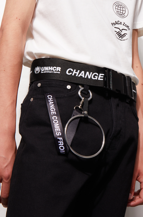 Weekday x UNHCR belt
