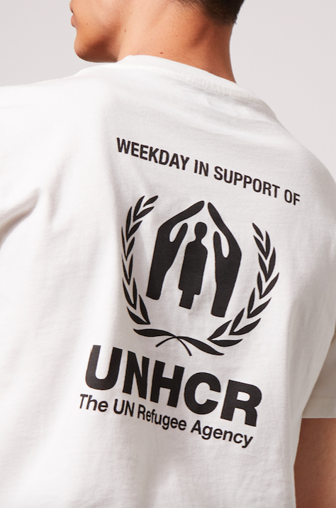 Weekday x UNHCR t-shirt