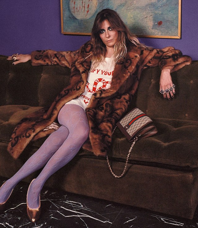 Gucci Cruise 2018 Campaign by Mick Rock