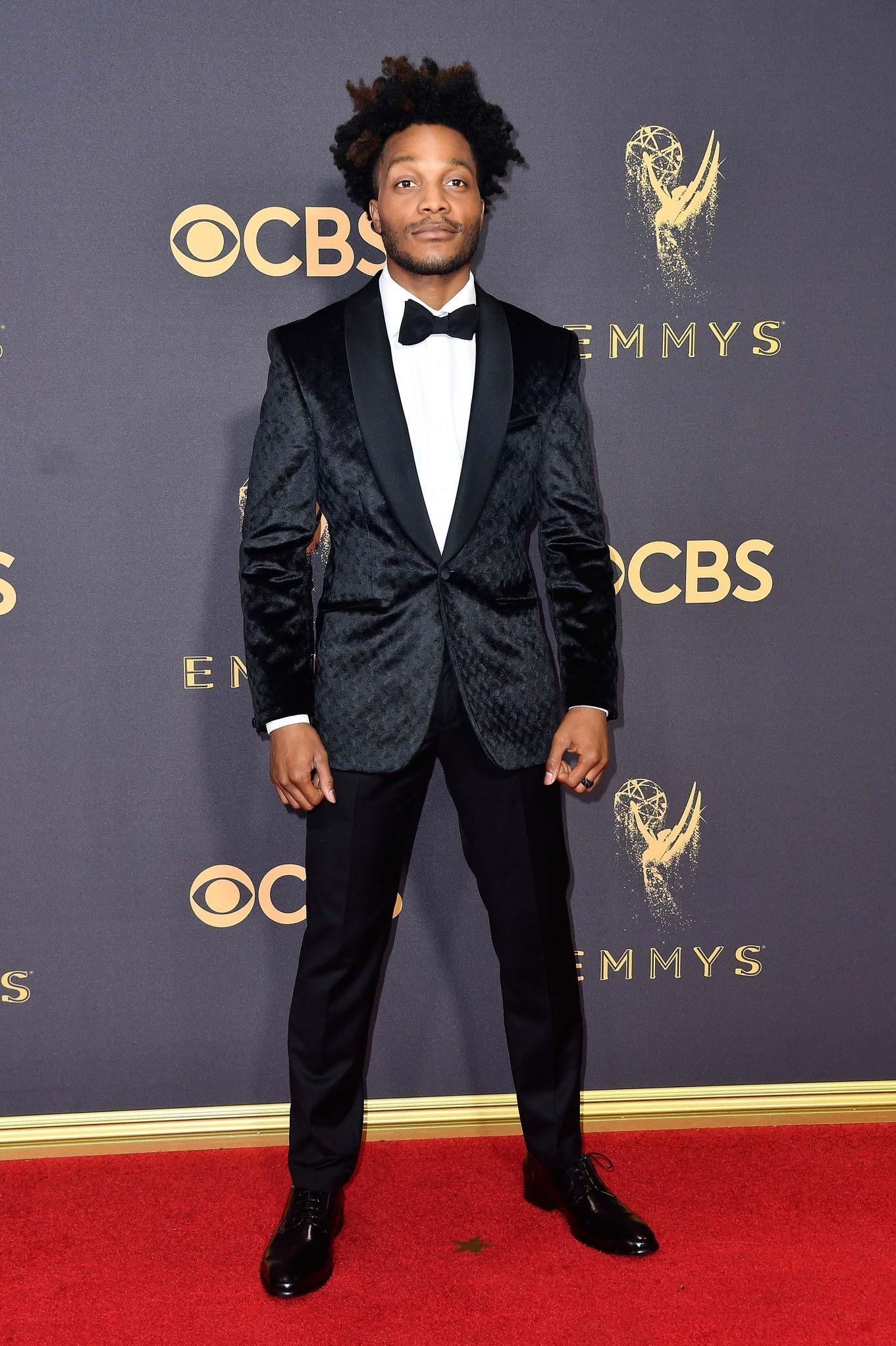 JERMAINE FOWLER In Kenneth Cole at the Emmys