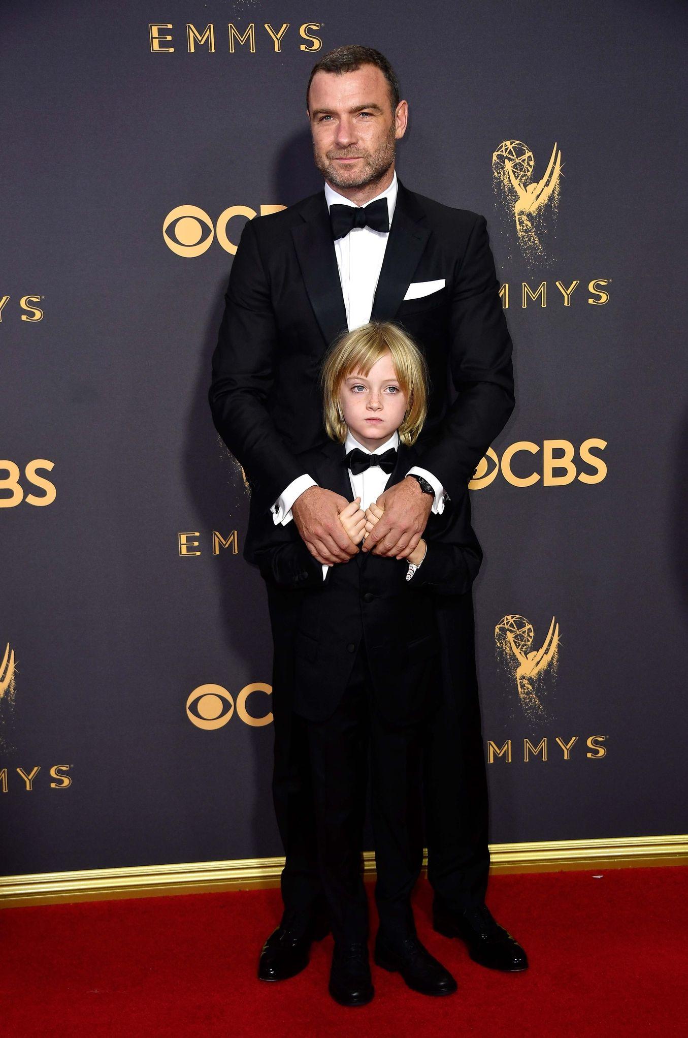 LIEV SCHREIBER at Emmys 2017