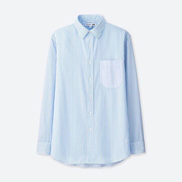 Uniqlo x JW Anderson Collection UNIQLO and JW ANDERSON randig skjorta