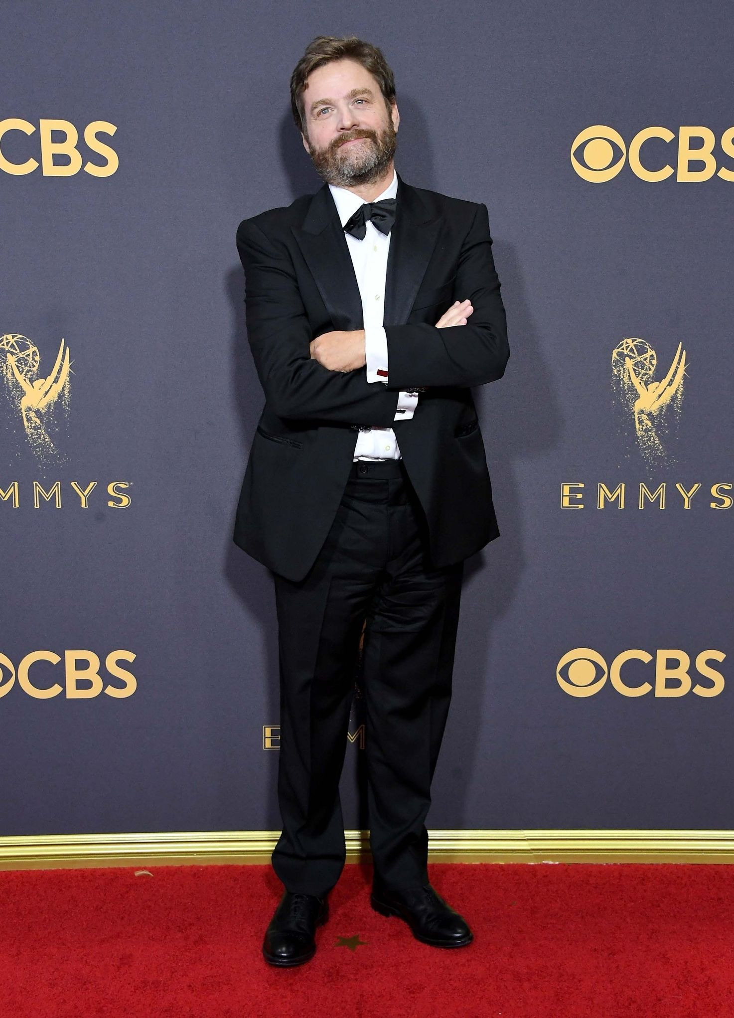 ZACH GALIFIANAKIS at Emmys 2017