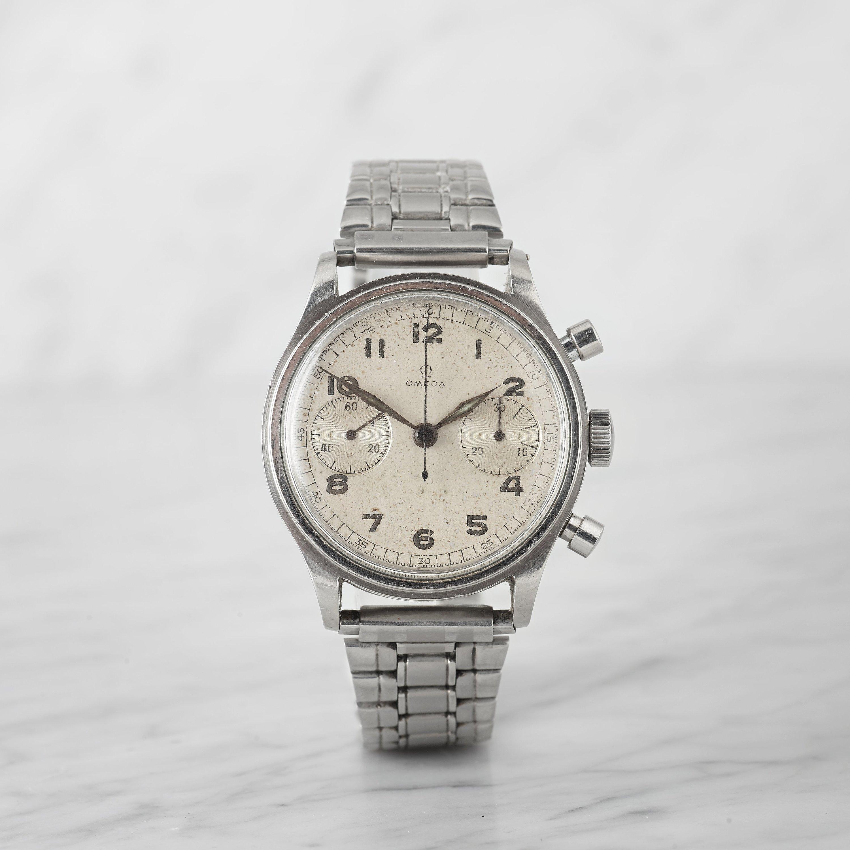 Bukowskis Important Timepieces Omega kronograf