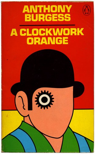 A Clockwork Orange by Anthony Burgess Halloween bok